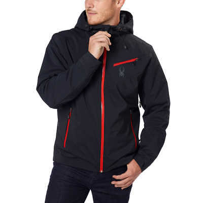 5c4ee88e04b8c7 SPYDER MEN'S FANATIC WINTER SKI JACKET ($280) NWT Black MEDIUM ...