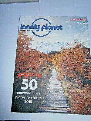 Lonely Planet Magazine December 2017 (new)