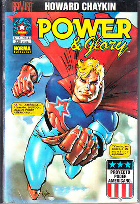 Power & Glory ( Completa ) 4 Numeros. Norma,Por Howard Chaykin.
