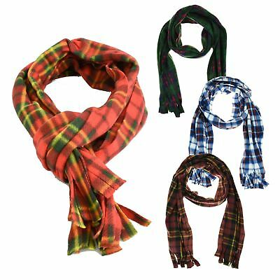 Luxury Soft Touch Plaid Tartan Check Scarf Shawl Pashmina Wrap Fashion Accessory