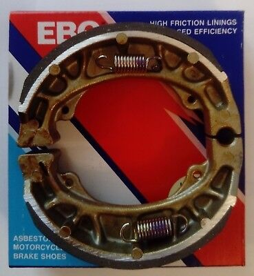 Peugeot Looxor 50 (2001 to 2006) EBC REAR Brake Shoes (H303)