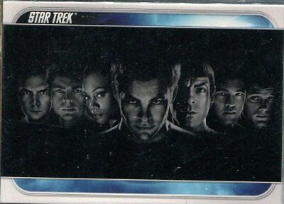 Star Trek The Movie 2009 Complete 81 Card Base Set