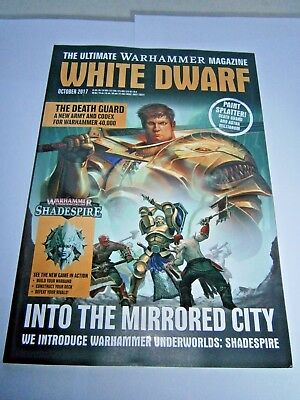 White Dwarf Magazine October 2017 (new)