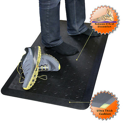 SAVE your Back!! Boost Industries OrthoMAT37 Anti-Fatigue Non-Slip Standing Mat