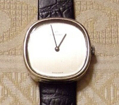Golana, Herrenuhr, 925er Silber, Sterlingsilber - um 1970, Made in Swiss