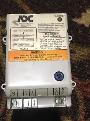 Used  ADC Dryer  Ignition Box 24V DSI Module #880815 ignitor igniter 235/236/330