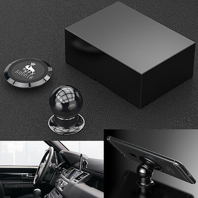 Luphie Rotating 360° Magnetic Car Dashboard Mount Handsfree Mobile Phone Holder