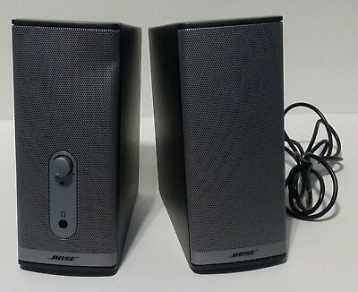 Bose Companion 2 Series II Computer Speakers With No AC Adapter
