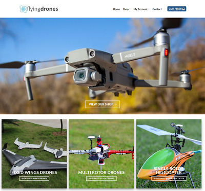 Flying Drones Website Business - Earn $895 A SALE. FREE Domain|Hosting|Traffic