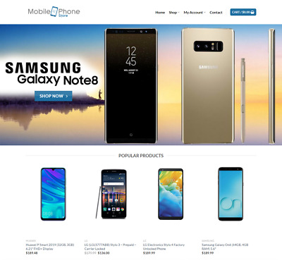 Mobile Website Business For Sale - Earn $751 A SALE. FREE Domain|FREE Hosting
