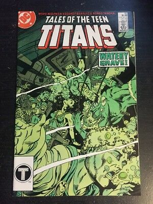 Tales Of Teen Titans#85 Incredible Condition 9.4(1988) Barreto Art!!