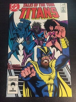 Tales Of Teen Titans#84 Incredible Condition 9.4(1987) Barreto Art!!