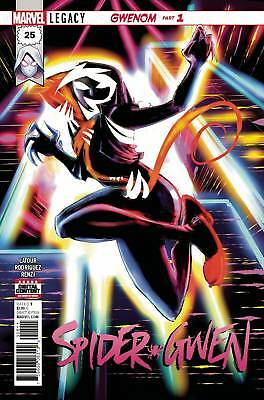 SPIDER-GWEN #25 Gwenom 1st Print Contains Value Stamp Marvel Comics NM 2017
