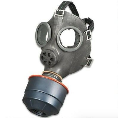 Swiss Civilian SM-67 Gas Mask Includes 40mm Sealed Filter