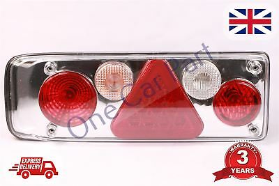 Universal 4 Function Led Rear Tail Trailer Caravan Lights Lamps Truck Lorry Lh