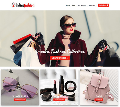 Ladies Fashion Website Business - Earn $71 A SALE. Free Domain|Hosting|Traffic