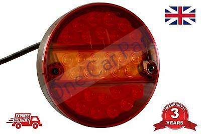 24V Led Recovery Rear Tail Lamp Indicator Lights Trailer Truck Lorry