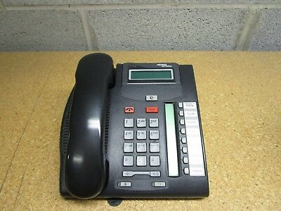Lot of 4 Nortel Networks T7208 Phone Charcoal NT8B26AABL Charcoal