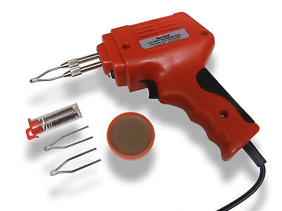 Heavy Duty Soldering Iron - 175W Electric Soldering Gun Kit