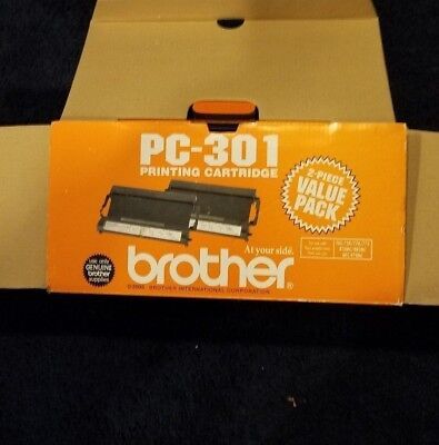 Brother PC-301 Printing Cartridge Fax Toner 750 / 770 / 775 / 870MC / 885MC
