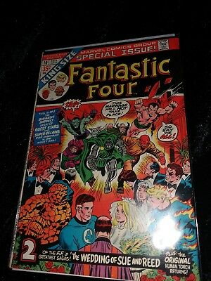 Rare Fantastic Four (1961 1st Series) Annual #10 the wedding of Sue and Reed