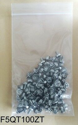 """100-Pack Gaming PC Chassis,Hard Drive,Motherboard,ATX PSU 6/32"""" Hex Case Screws"""