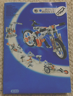 Meccano Multi Model - 5 Model Set #5501 (No Box)
