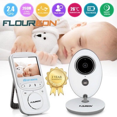 2.4'' LCD Baby Monitor Wireless Digital Audio Video Camera Security Night Vision