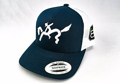 591f516c 8 SECONDS, RODEO hat, Bull Rider, Bronco, Horse, Trucker hat ...