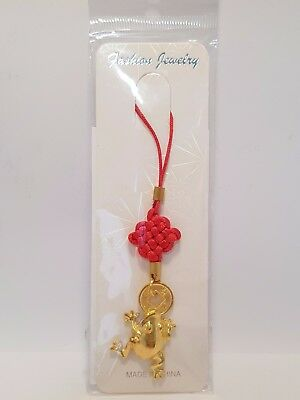 "Frog with Coin Hanging Gold 65mm ""Prosperity and Wealth""(Post or Local Pickup)"