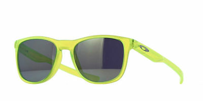 New Oakley OO9340-07 TRILLBE X men's sunglasses Matte Uranium / Emerald Iridium