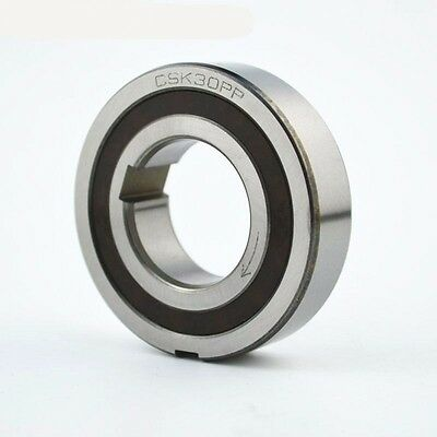 CSK30PP One Way Clutch Bearing With Internal & External Keyway 30*62*16mm x 1Pcs