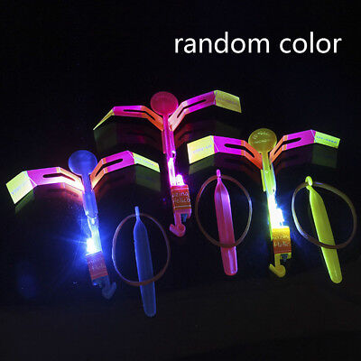 LED Light Up Flashing Dragonfly Glow Flying Dragonfly For  Kids Gifts Party Toys