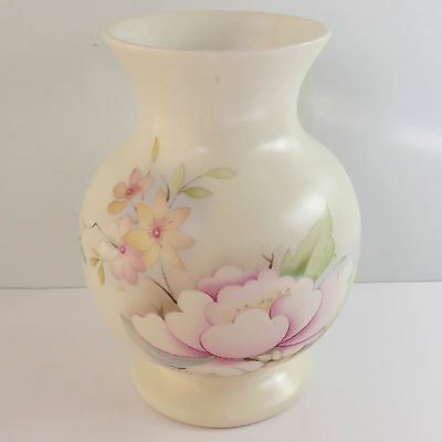 Vintage Aldridge Pottery Co Ltd, Stoke on Trent Staffs Floral Vase, England