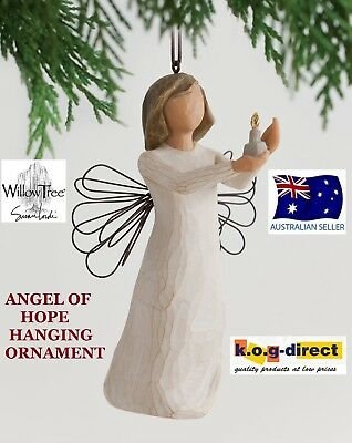ANGEL OF HOPE ORNAMENT Willow Tree Figurine By Susan Demdaco Lordi NEW