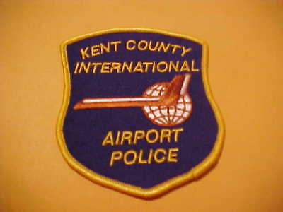 Kent County Michigan Airport Police Patch New Shoulder Size