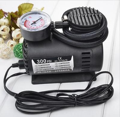 Inflator Pump 12V Portable Tire Inflator Car Inflator Mini Air Pump