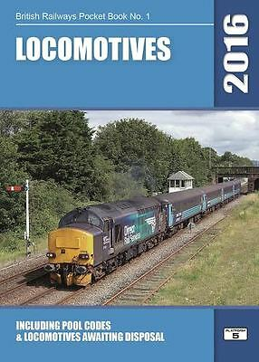 British Railways Pocket Book No 1 Locomotives 2018 Edition Pub by Platform 5