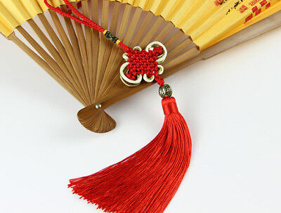 Chinese Knot Safe Wealth Lucky Charm Home Car Decoration New Year Talisman Gift