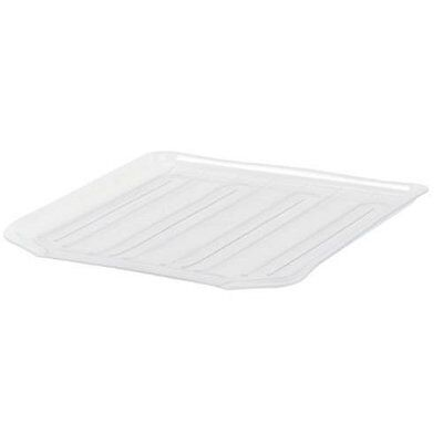 Rubbermaid Antimicrobial Drain Board Large, Clear