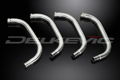 Suzuki Gsx1400 2001-2009 Stainless Steel Exhaust Header Downpipes Oem Compatible