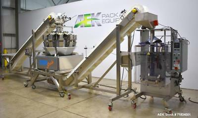 Used- WeighPack Systems Model Vertek 1150 Vertical Form and Fill Machine with 10