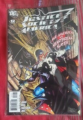 DC Comics: Justice Society of America  #12 Variant 1st print