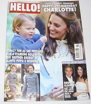 Hello Magazine Kate Middleton/Princess Charlotte Cover and Feature May 2017.