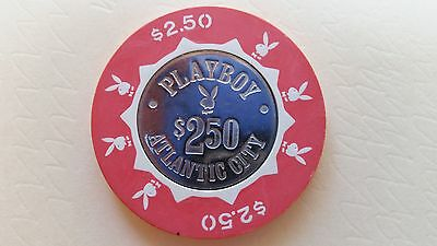 Collectible Playboy Atlantic City NJ 2.50 Casino Chip Token Free Shipping