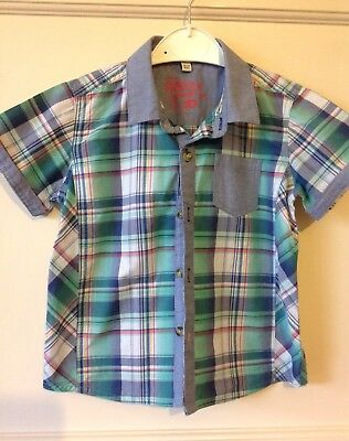 TED BAKER BABY BOYS SHIRT AGE 18-24 Months Checked Smart Worn Once VGC
