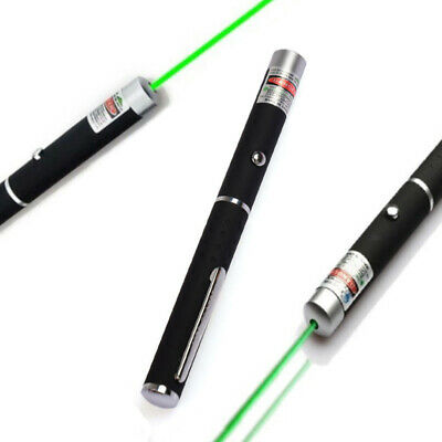 High Power 10mW 532nm Green Laser Pointer Lazer Projector Pen for Teaching
