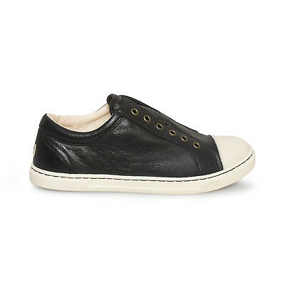 ce6c9c66a97 UGG JEMMA BLACK Leather Fashion Sneakers Women`s Shoes Size Us 10/uk ...