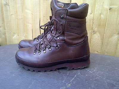 Altberg brown high liability British Army issue Brown Boots /Army/Bargain