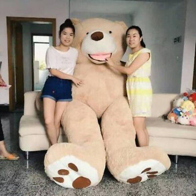 80Cm-340Cm Super Huge Teddy Bear (Only Cover) Plush Toy Shell (With Zipper)